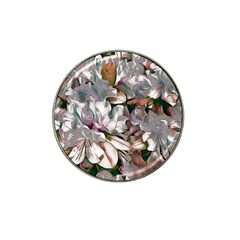 Elegant Flowers B Hat Clip Ball Marker (10 Pack) by MoreColorsinLife
