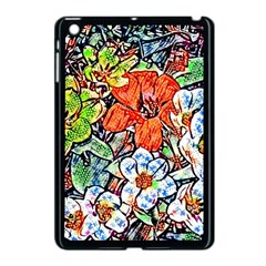 Hot Flowers 02 Apple Ipad Mini Case (black) by MoreColorsinLife