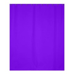 Neon Purple Solid Color  Shower Curtain 60  X 72  (medium)  by SimplyColor