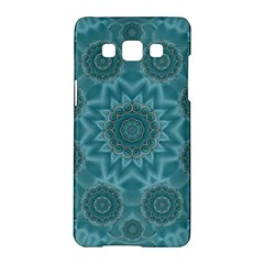 Wood And Stars In The Blue Pop Art Samsung Galaxy A5 Hardshell Case  by pepitasart