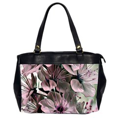Wonderful Silky Flowers A Office Handbags (2 Sides)  by MoreColorsinLife