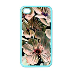 Wonderful Silky Flowers C Apple Iphone 4 Case (color) by MoreColorsinLife