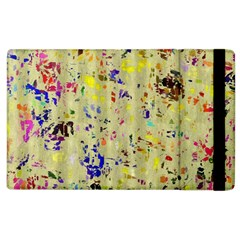 Paint Strokes On A Wood Background              Kindle Fire (1st Gen) Flip Case by LalyLauraFLM
