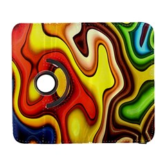 Colorful 3d Shapes               Samsung Galaxy Note Ii Flip 360 Case by LalyLauraFLM