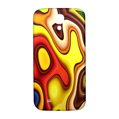 Colorful 3d shapes               Samsung Note 2 N7100 Hardshell Back Case by LalyLauraFLM