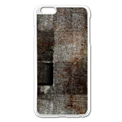 Concrete Grunge Texture                Apple Iphone 6/6s Leather Folio Case by LalyLauraFLM