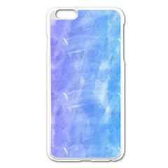 Blue Purple Watercolors               Apple Iphone 6/6s Leather Folio Case by LalyLauraFLM