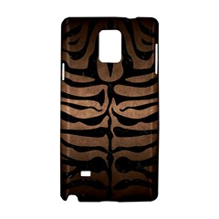 Skin2 Black Marble & Bronze Metal (r) Samsung Galaxy Note 4 Hardshell Case by trendistuff