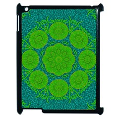 Summer And Festive Touch Of Peace And Fantasy Apple Ipad 2 Case (black) by pepitasart
