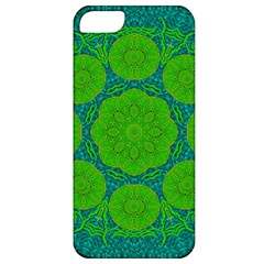 Summer And Festive Touch Of Peace And Fantasy Apple Iphone 5 Classic Hardshell Case by pepitasart