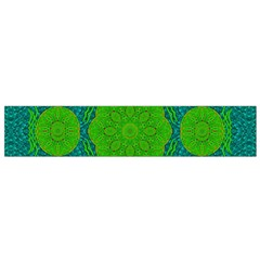 Summer And Festive Touch Of Peace And Fantasy Flano Scarf (small) by pepitasart