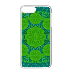Summer And Festive Touch Of Peace And Fantasy Apple Iphone 7 Plus White Seamless Case by pepitasart