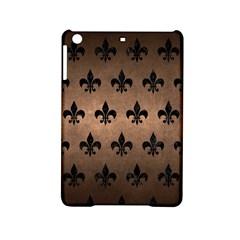 Royal1 Black Marble & Bronze Metal Apple Ipad Mini 2 Hardshell Case by trendistuff