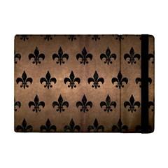 Royal1 Black Marble & Bronze Metal Apple Ipad Mini 2 Flip Case by trendistuff