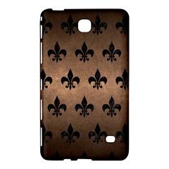 Royal1 Black Marble & Bronze Metal Samsung Galaxy Tab 4 (7 ) Hardshell Case  by trendistuff
