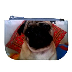 Pug 4 Large Coin Purse by TailWags