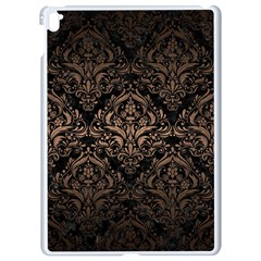 Damask1 Black Marble & Bronze Metal Apple Ipad Pro 9 7   White Seamless Case by trendistuff