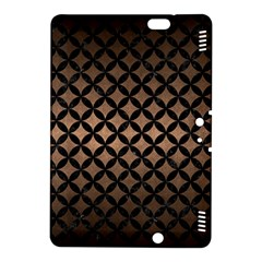 Circles3 Black Marble & Bronze Metal (r) Kindle Fire Hdx 8 9  Hardshell Case by trendistuff
