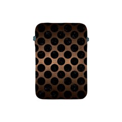 Circles2 Black Marble & Bronze Metal (r) Apple Ipad Mini Protective Soft Case by trendistuff