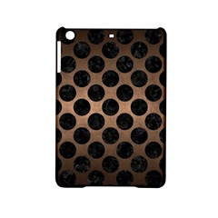 Circles2 Black Marble & Bronze Metal (r) Apple Ipad Mini 2 Hardshell Case by trendistuff
