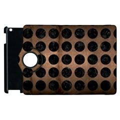 Circles1 Black Marble & Bronze Metal (r) Apple Ipad 2 Flip 360 Case by trendistuff