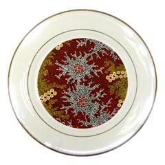 Aboriginal Art ¨c Riverside Dreaming Porcelain Plates by hogartharts