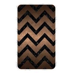 Chevron9 Black Marble & Bronze Metal (r) Memory Card Reader (rectangular) by trendistuff