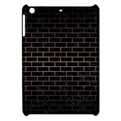 Brick1 Black Marble & Bronze Metal Apple Ipad Mini Hardshell Case by trendistuff