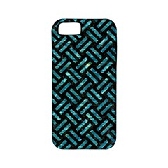 Woven2 Black Marble & Blue Green Water Apple Iphone 5 Classic Hardshell Case (pc+silicone) by trendistuff