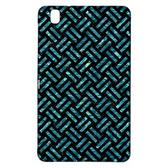 Woven2 Black Marble & Blue Green Water Samsung Galaxy Tab Pro 8 4 Hardshell Case by trendistuff