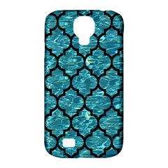 Tile1 Black Marble & Blue Green Water (r) Samsung Galaxy S4 Classic Hardshell Case (pc+silicone) by trendistuff