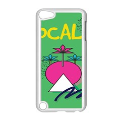 Behance Feelings Beauty Local Polka Dots Green Apple Ipod Touch 5 Case (white) by Mariart