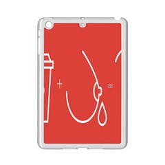 Caffeine And Breastfeeding Coffee Nursing Red Sign Ipad Mini 2 Enamel Coated Cases by Mariart