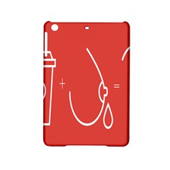 Caffeine And Breastfeeding Coffee Nursing Red Sign Ipad Mini 2 Hardshell Cases by Mariart