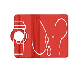 Caffeine And Breastfeeding Coffee Nursing Red Sign Kindle Fire Hd (2013) Flip 360 Case by Mariart