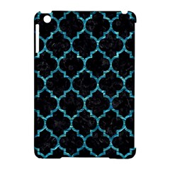 Tile1 Black Marble & Blue Green Water Apple Ipad Mini Hardshell Case (compatible With Smart Cover) by trendistuff