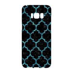 Tile1 Black Marble & Blue Green Water Samsung Galaxy S8 Hardshell Case  by trendistuff