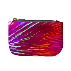 Zoom Colour Motion Blurred Zoom Background With Ray Of Light Hurtling Towards The Viewer Mini Coin Purses by Mariart