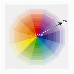 Colour Value Diagram Circle Round Medium Glasses Cloth by Mariart