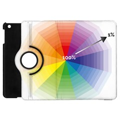 Colour Value Diagram Circle Round Apple Ipad Mini Flip 360 Case by Mariart