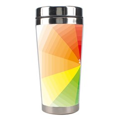 Colour Value Diagram Circle Round Stainless Steel Travel Tumblers by Mariart