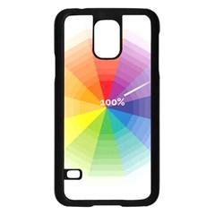 Colour Value Diagram Circle Round Samsung Galaxy S5 Case (black) by Mariart