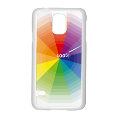 Colour Value Diagram Circle Round Samsung Galaxy S5 Case (white) by Mariart