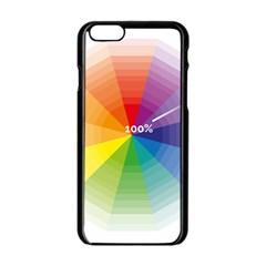 Colour Value Diagram Circle Round Apple Iphone 6/6s Black Enamel Case by Mariart