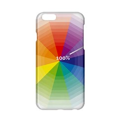 Colour Value Diagram Circle Round Apple Iphone 6/6s Hardshell Case by Mariart