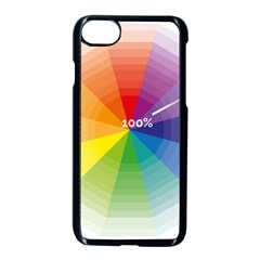 Colour Value Diagram Circle Round Apple Iphone 7 Seamless Case (black) by Mariart