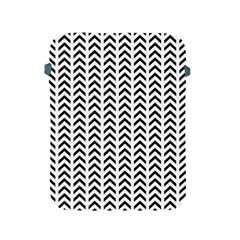 Chevron Triangle Black Apple Ipad 2/3/4 Protective Soft Cases by Mariart