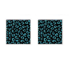 Skin5 Black Marble & Blue Green Water (r) Cufflinks (square) by trendistuff