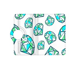 Brilliant Diamond Green Blue White Kindle Fire Hd (2013) Flip 360 Case by Mariart