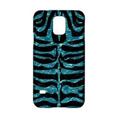 Skin2 Black Marble & Blue Green Water Samsung Galaxy S5 Hardshell Case  by trendistuff